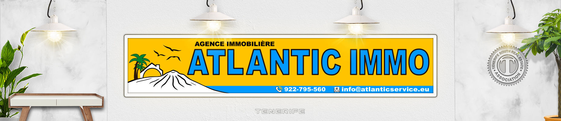 Atlantic Immo agence immobiliere 2019 tenerife